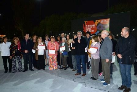 El Polideportivo San Martín de Don Torcuato celebró un nuevo aniversario junto a la comunidad