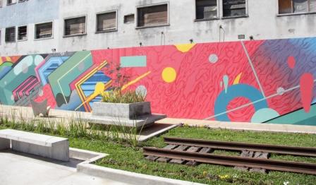 Arte Urbano en la Estación de tren Aristóbulo del Valle