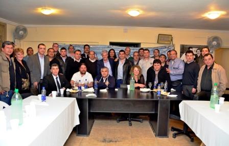 La CGT Zona Norte expresó su apoyo a la gestión de Luis Andreotti