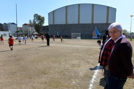 Más de 500 chicos de escuelas de fútbol de San Fernando, en un mismo torneo
