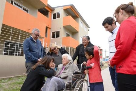 Los vecinos de Almirante Brown en Tigre cumplieron el sueño de la casa propia