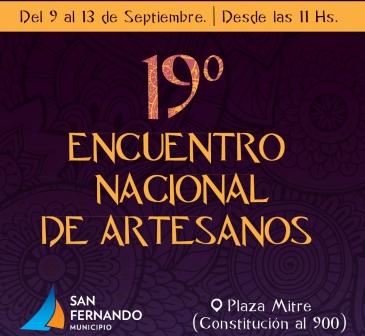 19 Encuentro Nacional de Artesanos en San Fernando
