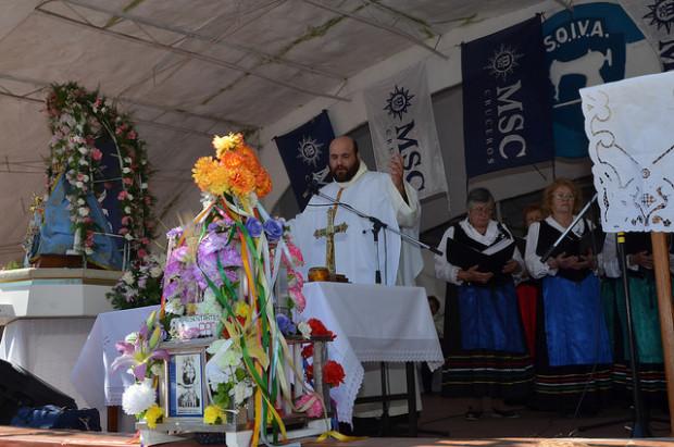 Más de 9 mil personas celebraron el aniversario de la Virgen del Pettoruto
