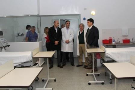 Se duplicó la atención en la Unidad de Terapia Intensiva del Hospital Dr. Houssay