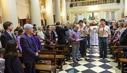 San Fernando celebró la festividad de Nuestra Señora de Aránzazu