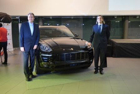 De Leipzig a Vicente López: Llegó el nuevo SUV Porsche Macan S con caja de 7 velocidades y 254 kms. de velocidad final