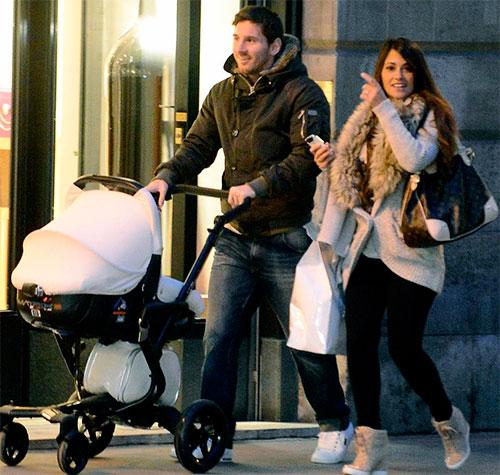 Lionel Messi y su esposa Antonella Roccuzzo fueron padres por segunda vez