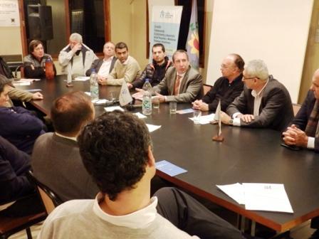 Szpolski propuso ante la UIT la creación de siete parques industriales en Tigre
