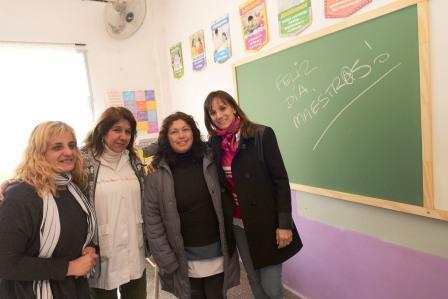 Tigre renovó 16 aulas de la escuela 35 de El Talar