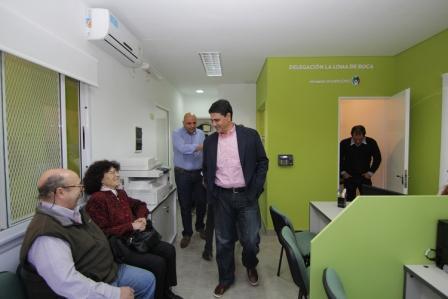 Vicente López reabrió de manera renovada la Delegación La Loma