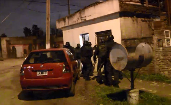 Incautan importante cantidad de Drogas tras varios allanamientos en Tigre