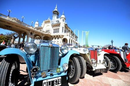 Gran encuentro de autos clásicos en el Museo de Arte Tigre