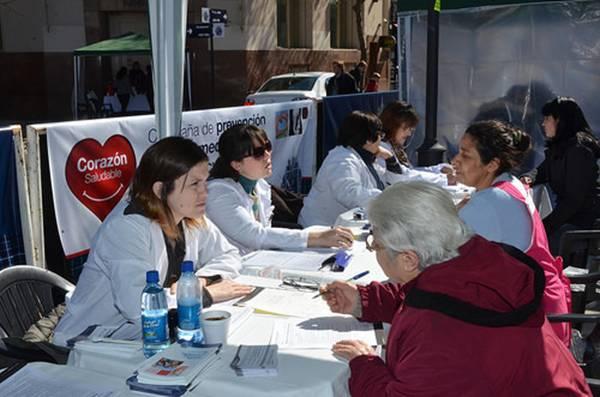 Comenzó en San Isidro la campaña de prevención de enfermedades cardiovasculares