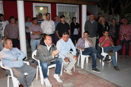 Dirigentes del MOPEBO de Tigre anunciaron su apoyo al Kirchnerismo