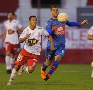 Huracán le gano a Tigre y se metió en los octavos de final de la Sudamericana