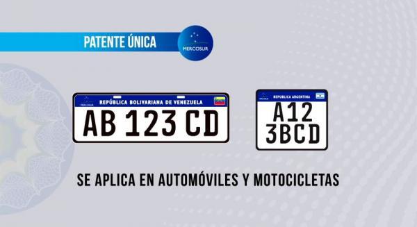 Desde el primero de enero próximo comenzarán a entregarse las nuevas patentes para autos y motos