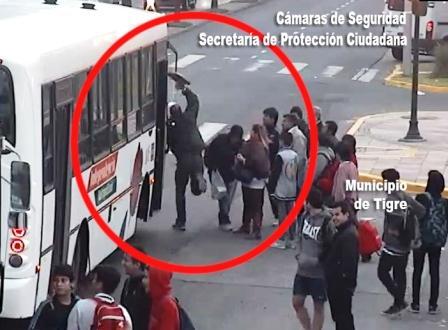 Lo detienen en Tigre tras atacar a un colectivo
