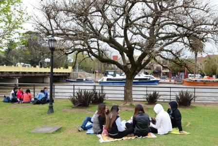 Los estudiantes saldrán a festejar la primavera con clima ideal en la mayor parte del país