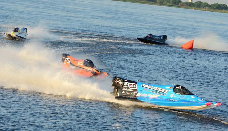 La F1 Powerboat se presenta por primera vez en su historia en Campana
