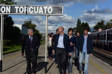 Guillermo Dietrich acompañó a Casaretto en una recorrida por Don Torcuarto