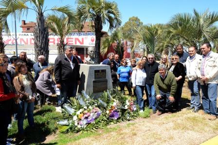 El PJ de Tigre homenajeó a Perón en el Día de la Lealtad