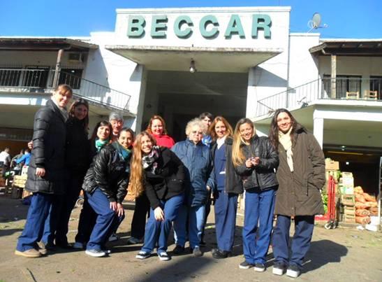 En el mercado de Beccar enseñaron cómo hacer un menú saludable y económico