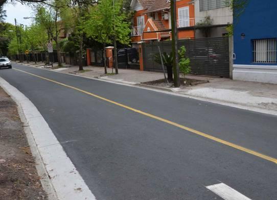 Finalizaron las obras en la senda prioridad ciclistas del bajo de San Isidro