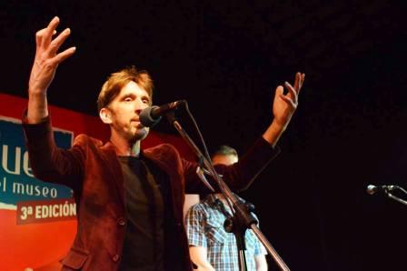 Diego Frenkel se lució en Tigre con su música