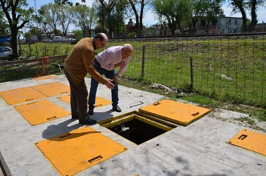 San Isidro completó el 100% del servicio de cloacas en Villa Adelina
