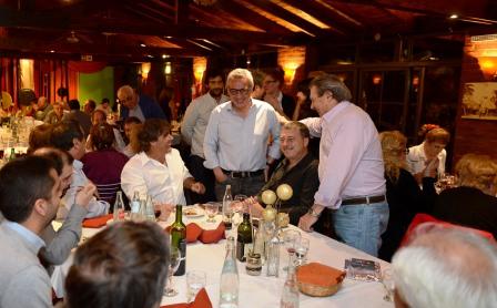 Los comerciantes de Tigre Centro agasajaron a Julio Zamora