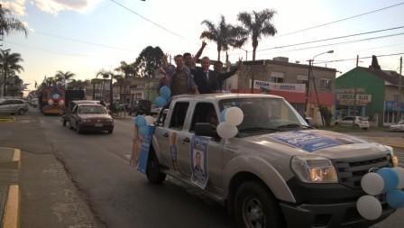 El Frente para la Victoria de Tigre cerró su campaña con una caravana