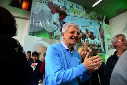 """Luis Andreotti: """"Estamos muy agradecidos, los vecinos me dieron una nueva responsabilidad"""""""