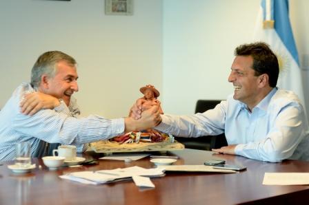 Sergio Massa se reunió con Morales en Tigre