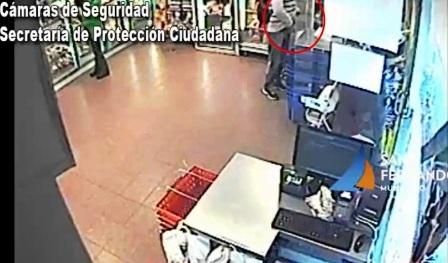 San Fernando: ladrón armado detenido gracias a las Patrullas y Cámaras de Seguridad municipales