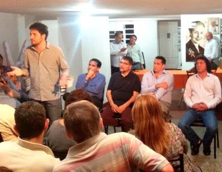 Lanzamiento de Campaña Scioli Presidente del FPV San Isidro
