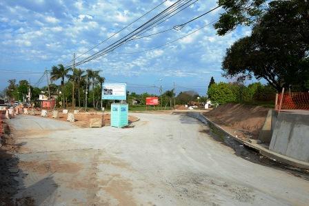 Realizan múltiples obras viales en Benavídez