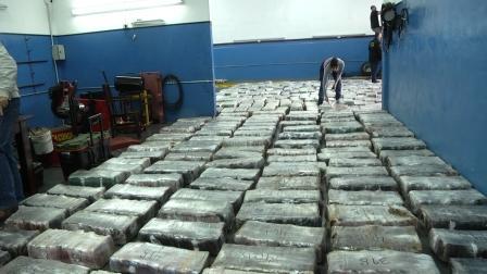 La DDI Tigre decomisó 15 toneladas de marihuana ocultas en un camión