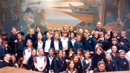 Alumnos del Colegio Pilgrims visitaron el HCD de Tigre