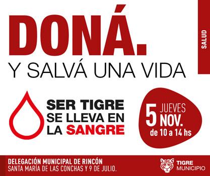 El móvil de Tigre Dona estará en Rincón de Milberg