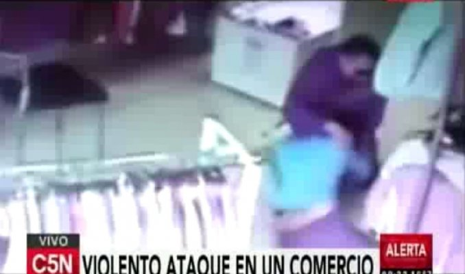Intento de abuso a una empleada de un local de ropa de Olivos