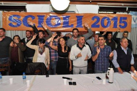 El FPV Tigre relanzó la campaña local de Daniel Scioli en unidad de todas sus organizaciones.