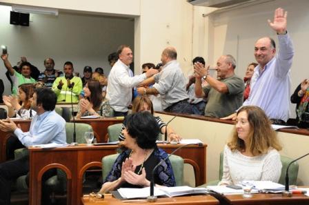 El HCD de San Isidro celebró el convenio colectivo de trabajo acordado entre el municipio y los trabajadores municipales