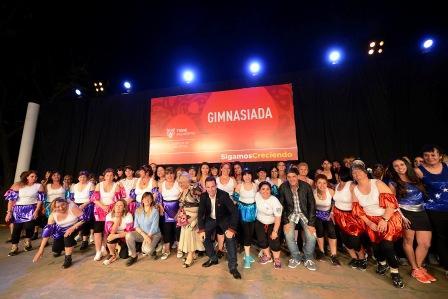 Los polideportivos de Tigre vivieron una gran fiesta en la Gimnasiada 2015