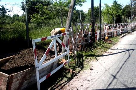 Realizan mejoras en la red eléctrica de Talar Sur