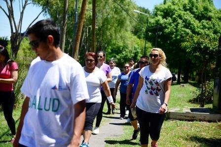 """San Fernando celebró el """"Día Mundial de la Diabetes"""" con actividades saludables"""