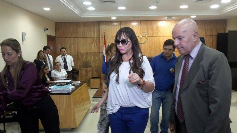 Dictaron prisión preventiva para Moría Casán en Paraguay