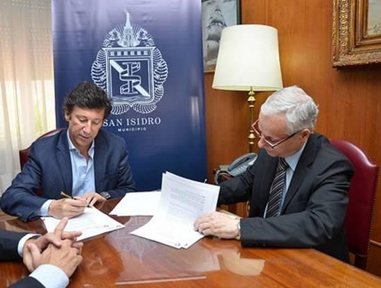 Convenio entre el municipio de San Isidro y la fundación Favaloro