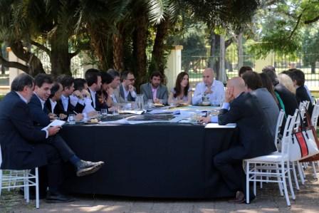 Vidal y Rodríguez Larreta encabezaron la primera reunión de Gabinete Metropolitano