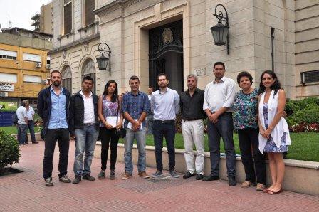 Los concejales del Frente Para la Victoria de Tigre se reunieron con Julio Zamora