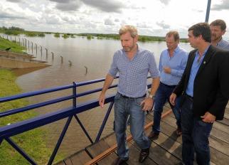 Advierten que seguirá creciendo el rio Uruguay en Entre Ríos, los  evacuados pueden llegar a 20 mil